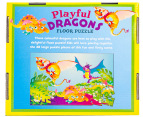 Playful Dragons Floor Puzzle 3