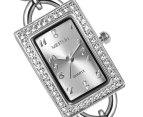 Mestige Women's White Lily Watch - White 2