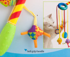 Petstages Jester Ribbon Wand Cat Toy 3