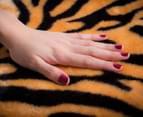 Deluxe Size 220x240cm Mink Blanket - Tiger Print 2