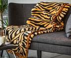 Deluxe Size 220x240cm Mink Blanket - Tiger Print 4