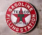 Iconic 50cm Metal Wall Sign - Gasoline 2