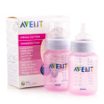 Philips Avent 260mL Feeding Bottles 2-Pack - Pink 3