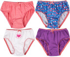 Rio Girl's Cotton Briefs 8-Pack - Hearts 2