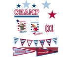 Champ Wall Stickers 2-Pack 1