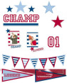 Champ Wall Stickers 2-Pack 2