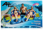 AirTime 150cm Single Inflatable Air Lounge 3