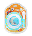 Giggle & Hoot Suction Bowl & Spoon Set 2