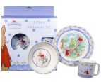 Royal Doulton Bunnykins 3 Piece Melamine Set Set - Shining Stars Design 1