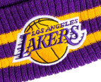 Mitchell & Ness Los Angeles Lakers Beanie - Purple 3
