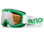 Anon Figment Snow Goggles - Lime Fish 1