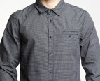Mossimo Men's Spike L/S Shirt - Black Check 2