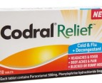 2 x Codral Relief Cold & Flu Tabs 10pk 2