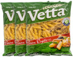 3 x Vetta Penne Rigate #2 500g 4