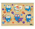 Giggle & Hoot 6-Piece Pin Puzzle 1
