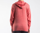 Nike Women's Time Out Hoodie - Mango Heather 3