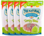 4x Natural Confectionery Co Tangy Bliss 140g 3