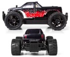 Remote Control Red Monster Truck - 27MHz 2