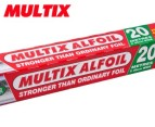 3 x Multix Aluminium Foil 20m 2