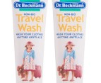2 x Dr. Beckmann Travel Wash 100ml 2