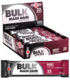 10 x Musashi Bulk Mass Gain Bars Berry 80g 4