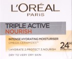 L'Oreal Triple Active Nourish Cream 50mL 2
