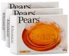 3 x Pears Transparent Soap 125g 1