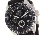 Fossil Men's Decker Chronograph - Silicone Black 2