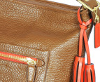 Coach Legacy Leather Large Duffle Bag - Brown 3