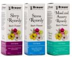 Brauer Bach Flower Remedy Oral Spray 20mL 3pk 1