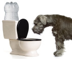 Toilet Water Pet Dish 1