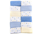 Big Softies Face Washers 12-Pack - Blue/Multi 2