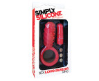Icon Brands Simply Silicone Love Button Ring 1