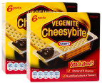 2 x Kraft Cheesybite Snackabouts 6pk 3