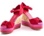 Boston Babe Mabli Wedge - Red Infusion - EU Size 39 3