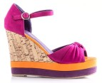 Boston Babe Mabli Wedge - Fuchsia Infusion - EU Size 39 2
