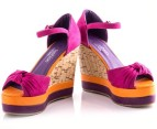 Boston Babe Mabli Wedge - Fuchsia Infusion - EU Size 39 3