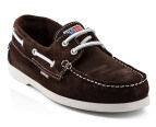 U.S. Polo Assn. Men's Boat Shoe - Brown 4