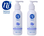 2 x Natural Instinct Soothing Nappy Change Cream 125mL  1