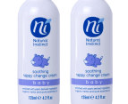 2 x Natural Instinct Soothing Nappy Change Cream 125mL  2