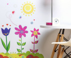 Flower Garden Wall Decal/Sticker 2