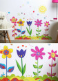 Flower Garden Wall Decal/Sticker 4