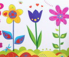 Flower Garden Wall Decal/Sticker 3