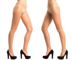 Razzamatazz Ladder Free Brief Pantyhose 5-Pack - Natural 3
