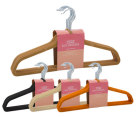 Homezone Flocked Suit Hangers 10pk - Randomly Selected 4