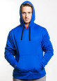 Champion Men's Fleece Hoodie - Blue 4
