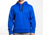 Champion Men's Fleece Hoodie - Blue 1