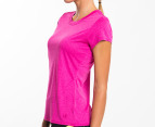 Champion Women's Duo Dry Endurance Tee - Pink 2