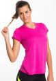 Champion Women's Duo Dry Endurance Tee - Pink 4