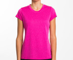 Champion Women's Duo Dry Endurance Tee - Pink 1